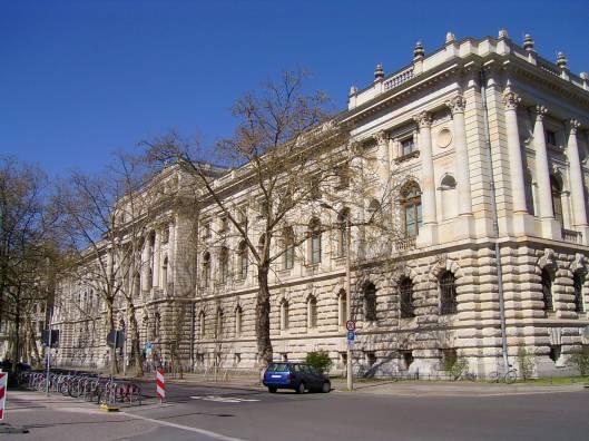 Gebouw van de Universiteitsbibliotheek Leipzig