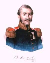 Gravure van generaal-majoor J.B. van Merlen