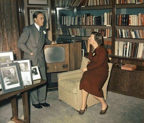 Juliana en Bernhard (foto uit het nationaal Archief)