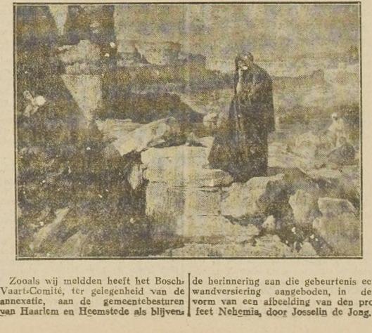 UIt: Haarlem's Dagblad van 16 mei 1927