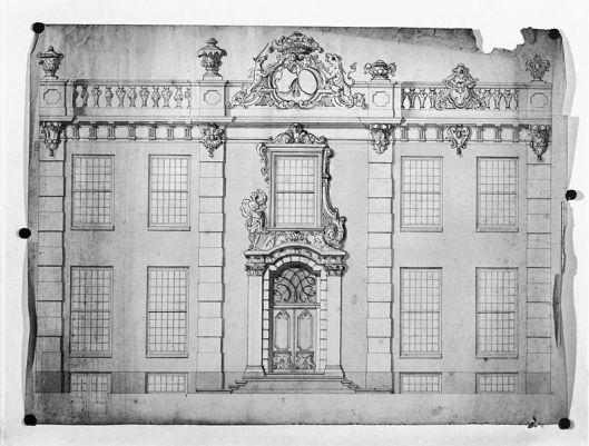 Ontwerp voor Meer en Berg door Daniel Marot uit 1704 (collectie gemeente Heemstede/N.H.Archief Haarlem)