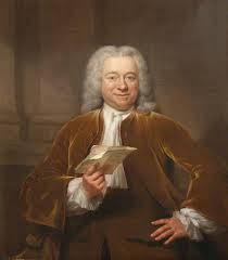 J.Ph. d'Orville op een geschilderd portret door Jan Maurits Quinckhard