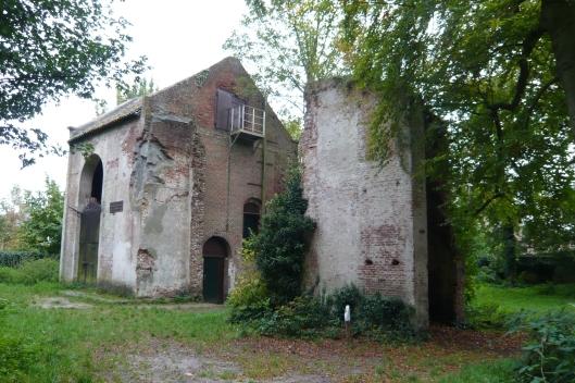 Ruïne van pomphuis Meer en Berg Heemstede (Rijksdienst voor Cultureel Erfgoed)