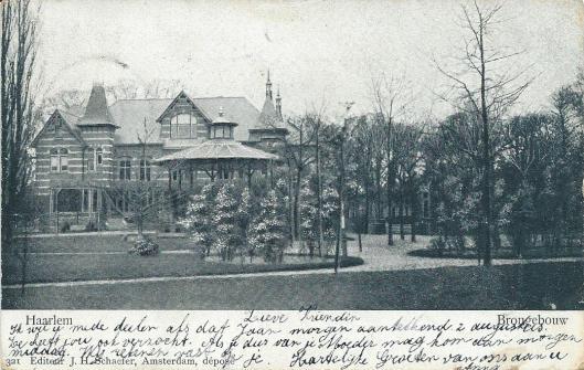 Brongebouw Haarlem
