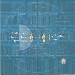 Folder van Bibliotheca Philosophica Hermetica/J.R.Ritman Library