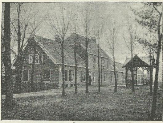 Hoeve d'Yser-inck in de Haarlemmermeer (Vijfhuizen), plaats van oorsprong der Wilhelmina-bron.