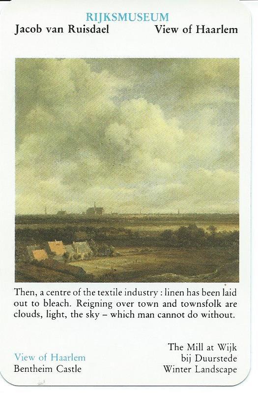 J.van Ruisdael. View of Haarlem. (Rijksmuseum Amsterdam: Quartet 17th century Masters)