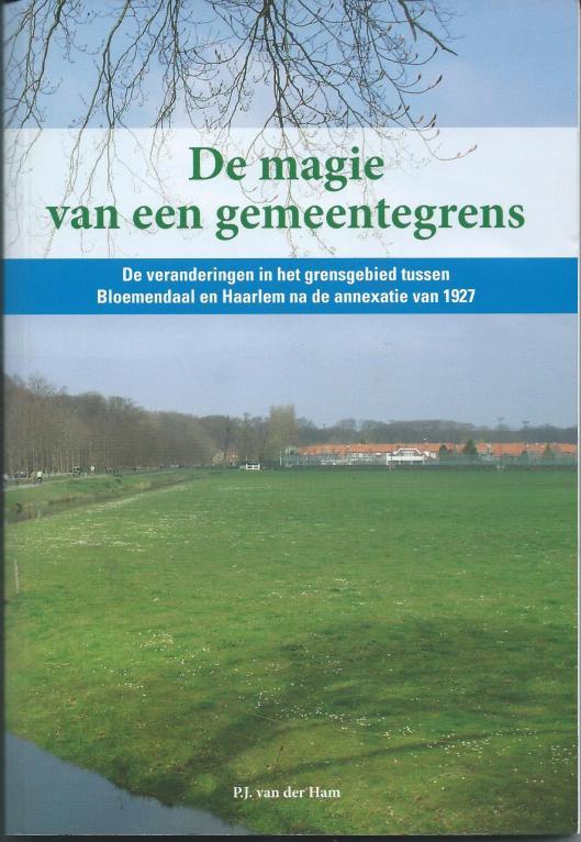 In 2008 publiceerde sociograaf en lokaal bestuurder P.J.van der Ham een boek, getiteld: 'De magie van een gemeentegrens; de veranderingen in het grensgebied tussen Bloemendaal en Haarlem na de annexatie van 1927'.
