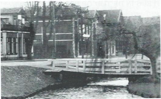 Bronsteeweg omstreeks 1930