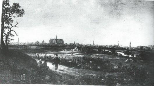 Reijer Claesz. Suijcker: Gezicht op Haarlem, 1624. (Frans Hals Museum)
