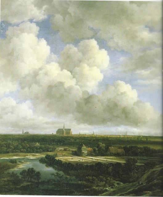 Gezicht op Haarlem met de bleekvelden; door Jacob van Ruidael. Stiftung Prof.dr.L.Ruzicka, Kunsthaus Zürich