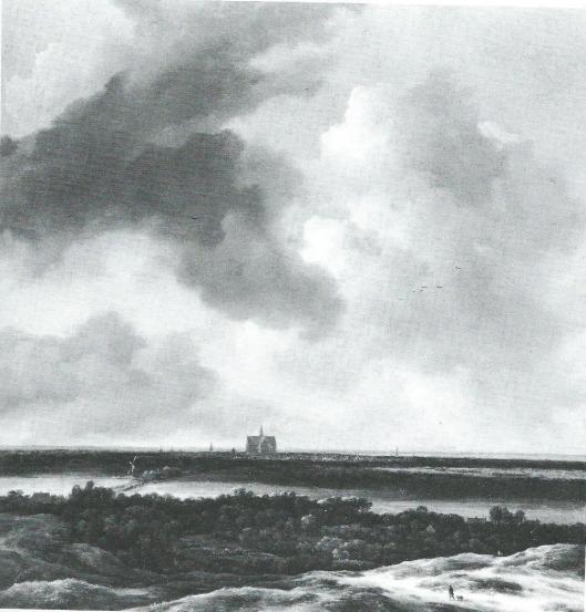 Jacob van Ruisdael, Gezicht op Haarlem. (Verzameling Sir Harold Samuel, Wych Cross Place, Sussex)