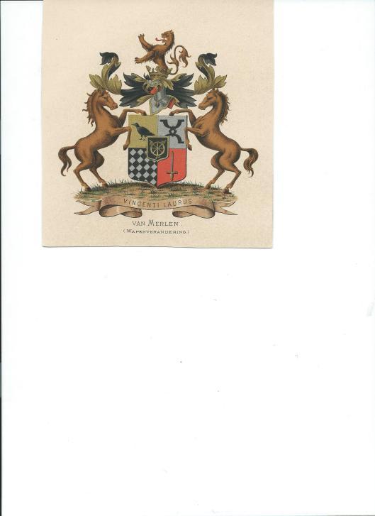Uit wapenboek Vorsterman van Oyen