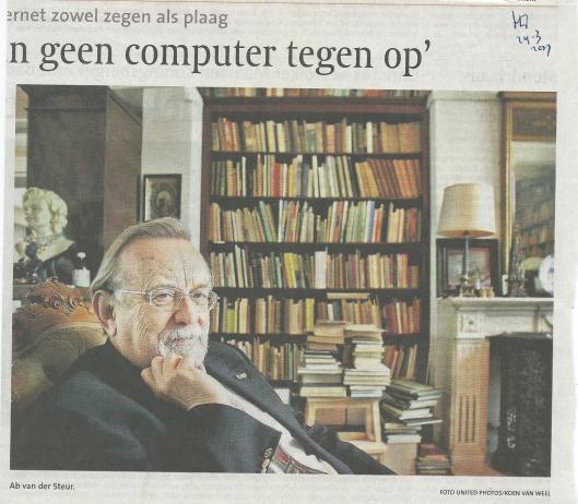 Vervolg van 'de antiquaar' Ab van der Steur (H.D., 24-3-2007)