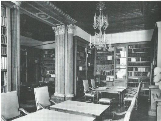 Oude bibliotheek van de Ned. Academie van Wetenschappen in het Trippenhuis