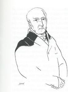 Getekend portret van mr. Jan Pieterszoon van Wickevoort Crommelin (1763-1837), in familiekring 'Appie' genoemd