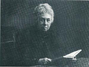 Mevrouw Clasina Alida Visser (1839-1912), echtgenote van J.B. van Merlen