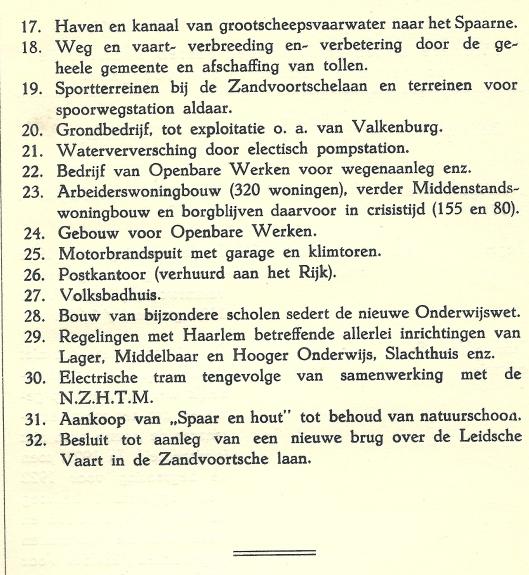 Vervolg van ontwikkelingen gemeente Heemstede in de periode 1906-1925