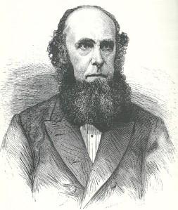Frederik Muller (1817-1881), bibliograaf, boekhandelaar, antiquaar en uitgever, op latere leeftijd geportretteerd