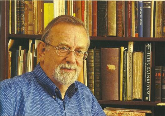 Portretfoto Ab van der Steur uit 2002 door Jos Fielmich
