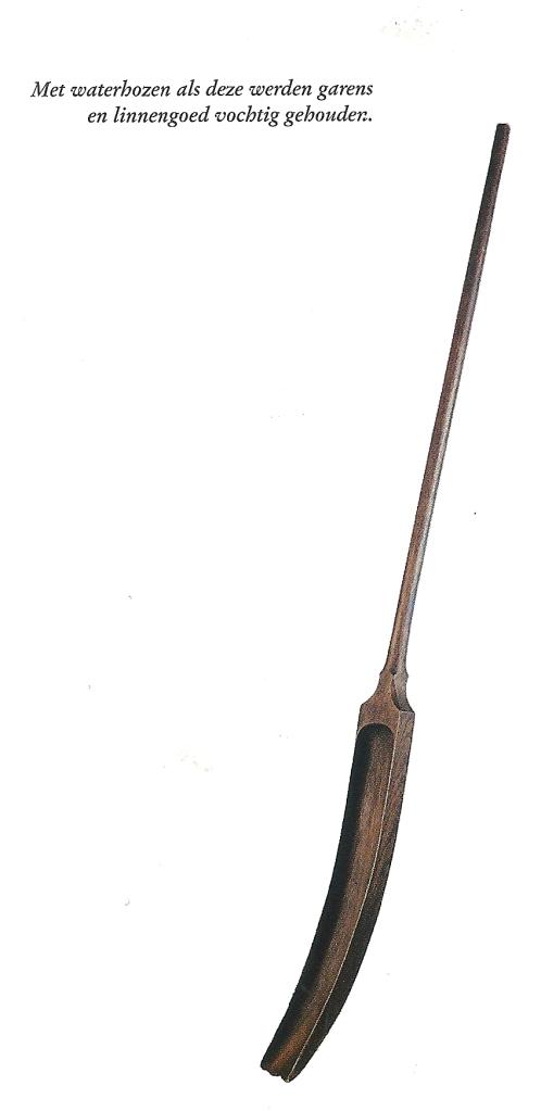 Voorbeeld van een blekershoos. De Historische Vereniging Heemstede Bennebroek bezit een unieke historische hoos