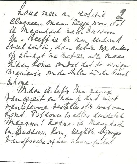 Vervolg schrijven Apie Prins aan Victor van Vriesland (2)