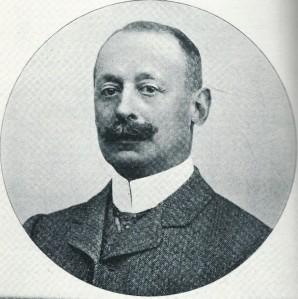 Portret uit 1905 van jonkjeer Charles Fredrik van de Poll (1855-1936)
