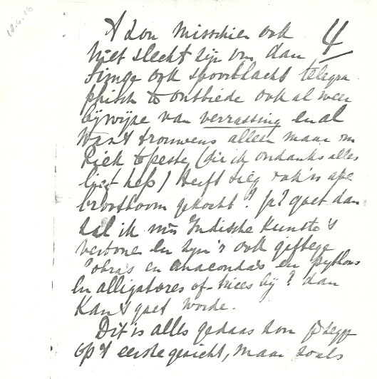 Vervolg schrijven Apie Prins aan Victor van Vriesland (4)