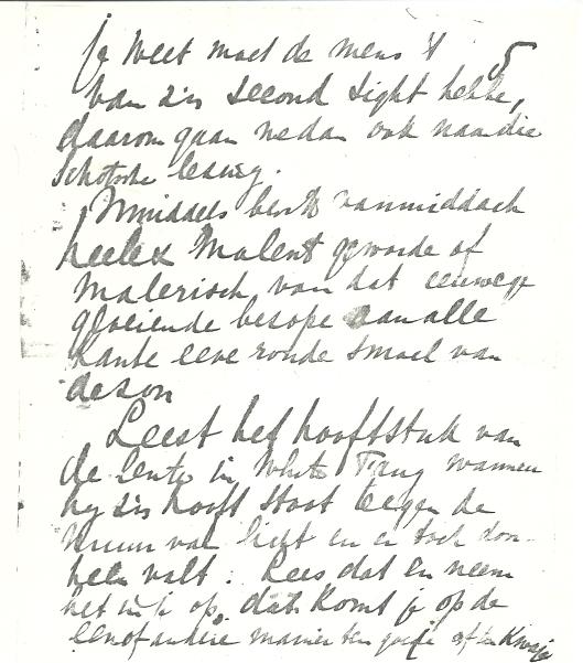 Vervolg schrijven Apie Prins aan Victor van Vriesland (5)