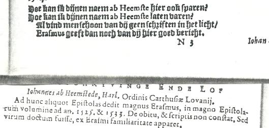 Uit: S.Ampzing over Johannes van Heemstede