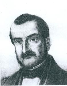 Portret van jhr. Mozes Salvador (1813-1884), gemeenteraadslid Haarlem van 1851-1855 en 1859-1874