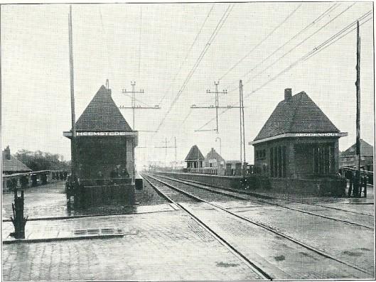 De Spoorweghalte Heemstede-Aerdenhout is op 7 oktober 1928 in gebruik genomen.