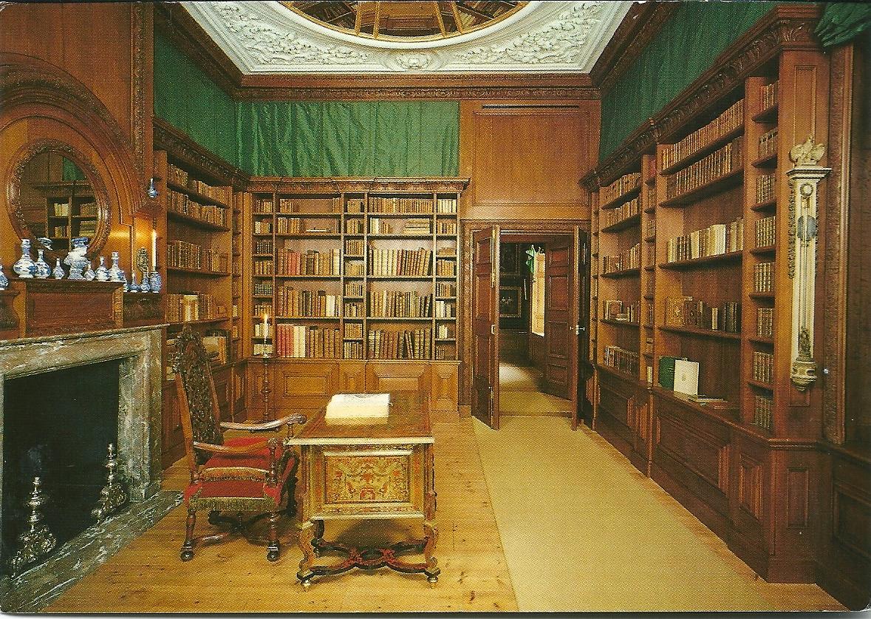 Bibliotheken in kastelen heren landhuizen en for Interieur stylist amsterdam