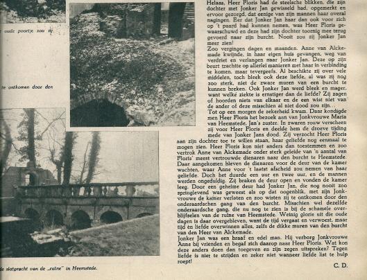 Vervolg van: een minnelist in Heemstede. Uit: De Week in Beeld, 2 mei 1941.