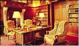 Interieur bibliotheek Singraven
