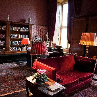 Bibliotheekkamer kasteel Vorden