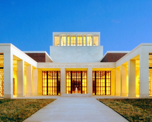 Exterior of George W.Buss Presidential Center