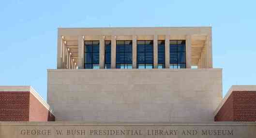 George W.Bush Library and Museum in Dallas