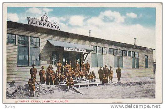 Soldiers library Gordos, California