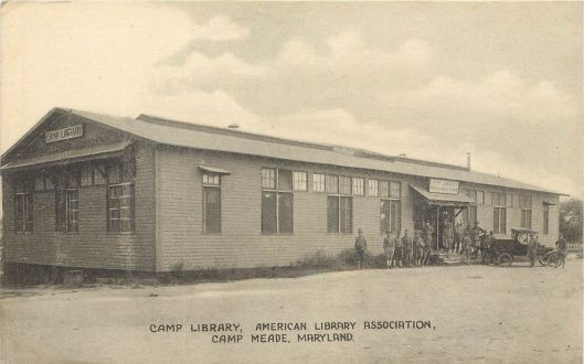 Soldiers library in Meade, Maryland