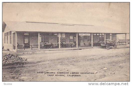 Soldiers Library Kearny, California