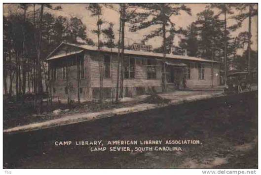 Soldiers library Sevier, South Carolina