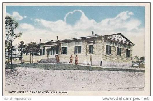 Camp library Devons, Massachusetts