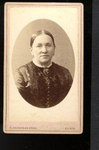 Echtgenote Cornelia de Wit-van Bommel (1835-1886)