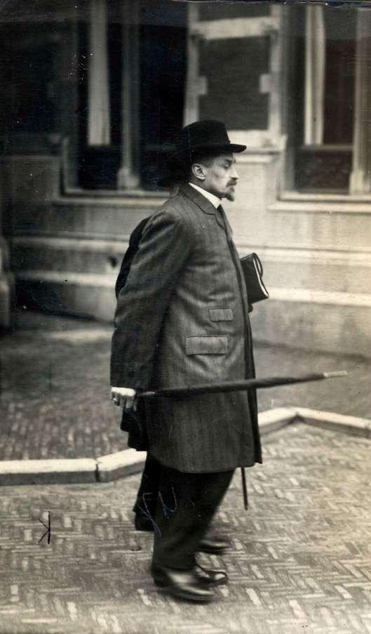 Dr. F.E.Daubanton in Utrecht, 1913