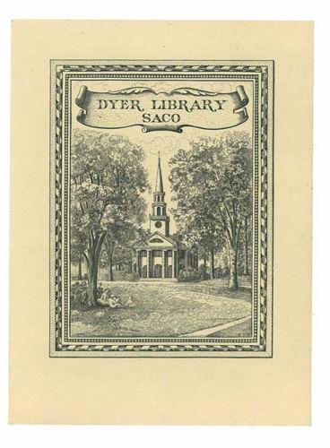 Exlibris van public library Richfield Springs, USA