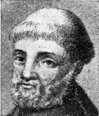 Portret van Jean Froissart (1333-circa 1405), hofdichter en geschiedschrijver