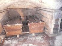 In 1938 voor het laatst is bij de restauratie van 2015 de grafkelder nogmaals geopend door de sluitsteen op te hijsen. Bijgaand een foto van de kelder van de Heemsteder, 5 mei 2015