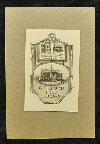 Guilford Free Library, maine, USA