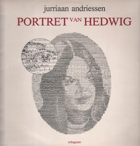 Vooromslag plaat 'Portret van Hedwig' door Jurriaan Andriessen
